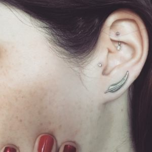 Rook Piercing 50 Ideas Pain Level Healing Time Cost Experience