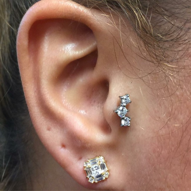 Tragus Piercing 50 Ideas Pain Level Healing Time Cost