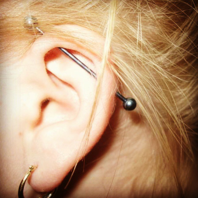 You Can Find Diffe Names Of An Ear Piercing Such As Bar Used In Uk And Ireland Or Scaffold Basically They All Have The