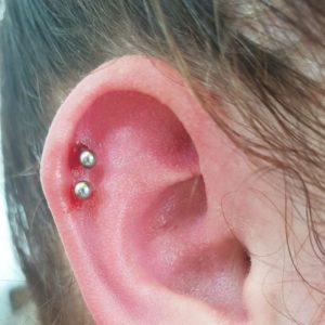 Helix Piercing 50 Ideas Pain Level Healing Time Cost