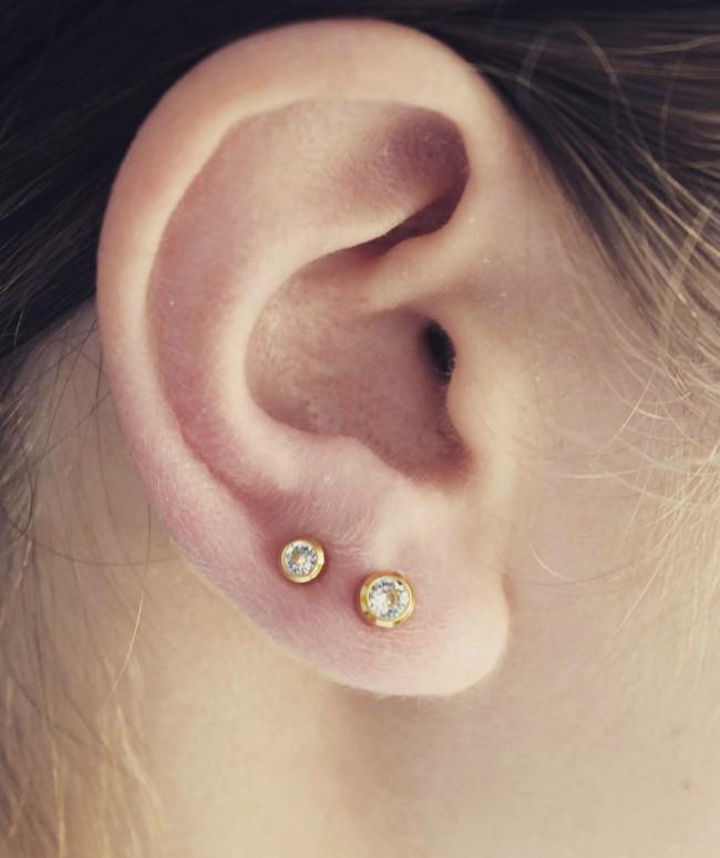Ear Lobe Piercing 50 Ideas Pain Level Healing Time Cost