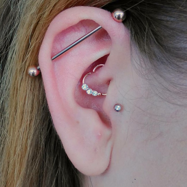 Daith Piercing 50 Ideas Pain Level Healing Time Cost
