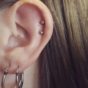 Double Cartilage Piercing 50 Ideas Pain Level Healing Time Cost