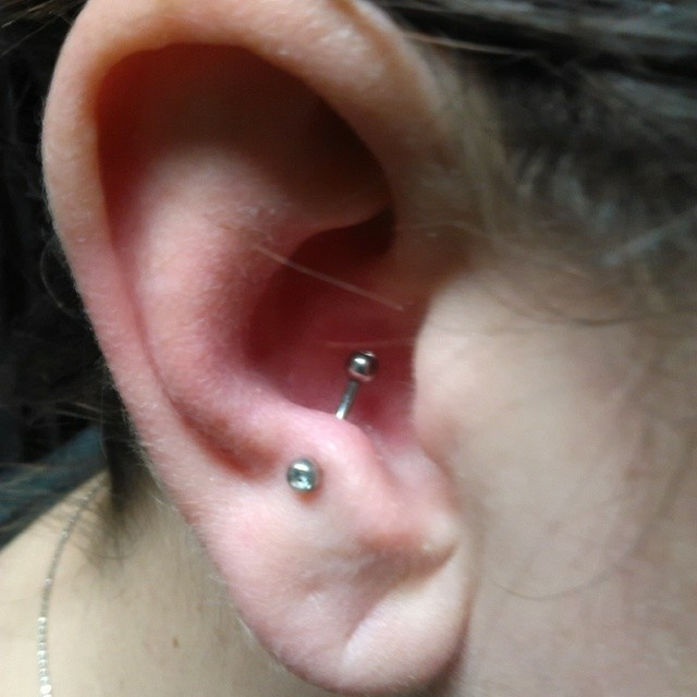 Ear Piercing Chart 17 Types Explained Pain Level Price Photo